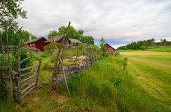Landscape in Sweden Royalty Free Stock Photos