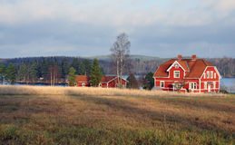 Landscape in Sweden, Scandinavia, Europe Stock Photos