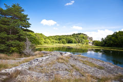 Landscape in Sweden Royalty Free Stock Photo