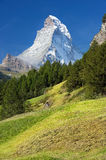 Landscape in the Swiss Alps Royalty Free Stock Images