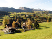 Landscape in Switzerland Stock Photography