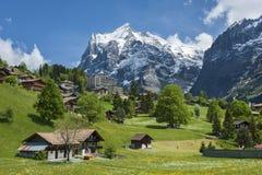 Landscape in Switzerland Stock Image