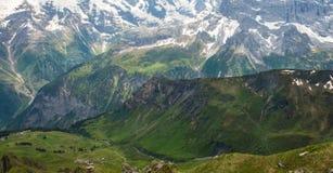 Landscape in Switzerland Stock Photography