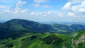 Landscape in Switzerland Royalty Free Stock Image