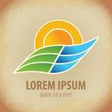 Landscape symbol and icon Stock Image