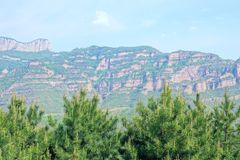 Taihang Mountain royalty free stock photo