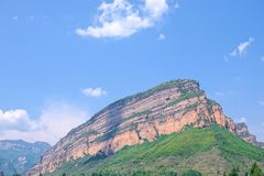Taihang Mountain stock photography