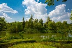 The landscape of Taihu lake. Wuxi, China royalty free stock photo