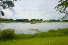 The landscape of Taihu lake. Wuxi, China stock photography