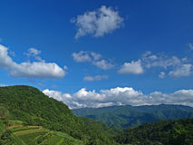 The Landscape of Taiwanese Mountain Stock Images