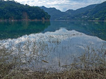 Landscape of Taiwanese Mountain & Lake Royalty Free Stock Images