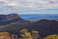 Landscape taken in Blue Mountains of Australia.  stock images