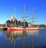 Landscape  tall ship glasgow Royalty Free Stock Image