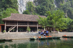Landscape of Tam Coc national park Royalty Free Stock Image