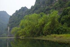 Landscape of Tam Coc national park Stock Images