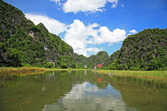 Landscape of Tam Coc national park Royalty Free Stock Images