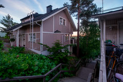 Landscape of the Tampere town. Finland. Royalty Free Stock Photos