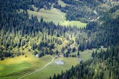 Landscape Tannheimer Tal Austria. Image landscape of the Tannheimer Tal in Austria, Europe Stock Photos