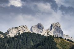 Landscape Tannheimer Tal Austria. Image landscape of the Tannheimer Tal in Austria, Europe Royalty Free Stock Images