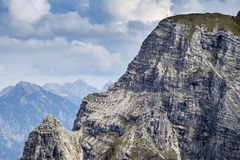 Landscape Tannheimer Tal Austria Stock Photos