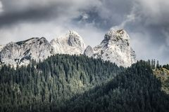 Landscape Tannheimer Tal Austria Royalty Free Stock Photography