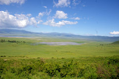 Landscape of Tanzania Royalty Free Stock Images