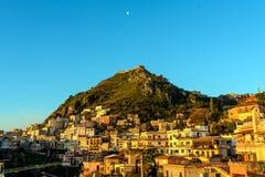 Landscape of Taormina Royalty Free Stock Photos