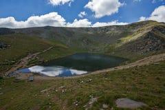 Landscape of The Tear lake, The Seven Rila Lakes, Bulgaria. Amazing Landscape of The Tear lake, The Seven Rila Lakes, Bulgaria Stock Image