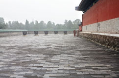 Landscape of the Temple of Heaven Royalty Free Stock Image