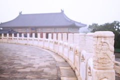Landscape of the Temple of Heaven Royalty Free Stock Photos