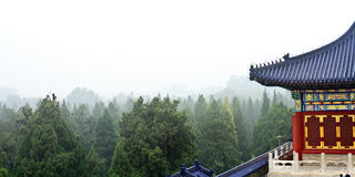 Landscape of the Temple of Heaven Royalty Free Stock Images