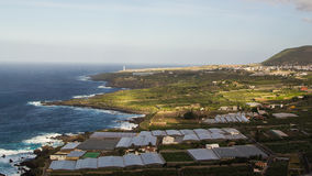 Landscape of Tenerife, Canary Islands Royalty Free Stock Photography