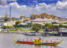 Landscape of Thai's king palace Stock Photos