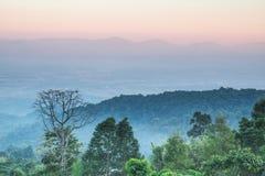 Landscape Thailand Arkivbilder