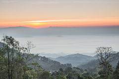 Landscape Thailand Royaltyfri Bild