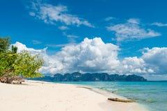 Landscape of Thailand, the beach Poda island Stock Photography