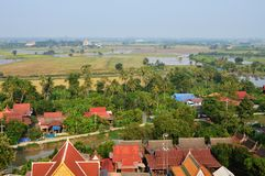 Landscape in Thailand upcountry Stock Images