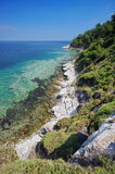 Summer Landscape in Thassos Island, Greece. Summer seascape Stock Images