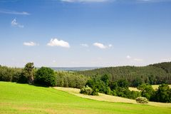 Landscape Thuringia Stock Photo