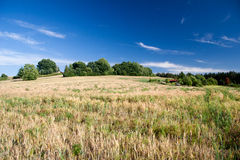 Landscape in Thuringia Royalty Free Stock Photography