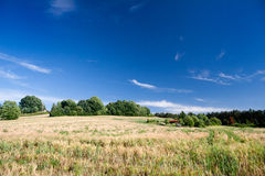 Landscape in Thuringia Royalty Free Stock Photos