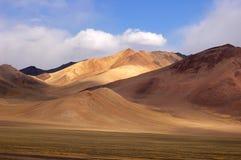 Landscape in tibet stock image