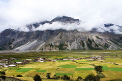 Landscape in Tibet Stock Photos