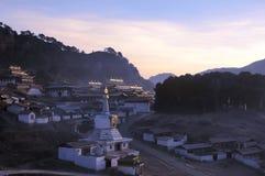 Landscape in Tibet stock images