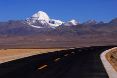 Landscape in Tibet Stock Image