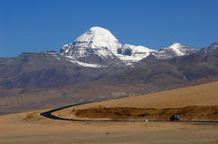 Landscape in Tibet royalty free stock image
