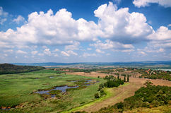 Landscape in Tihany at Lake Balaton,Hungary Stock Images