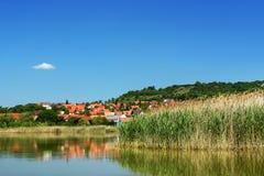 Landscape of Tihany at Lake Balaton Stock Photos