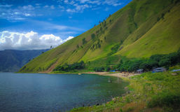 Landscape of toba royalty free stock photography