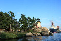 Landscape of Tokyo DisneySea Royalty Free Stock Images